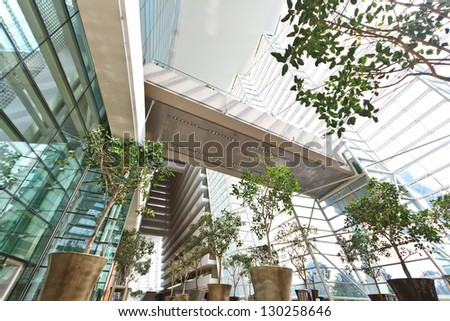 SINGAPORE-JAN 5: Marina Bay Sands Resort Hotel on Jan 5, 2013 in Singapore. It is billed as the world's most expensive standalone casino property at S$8 billion. - stock photo