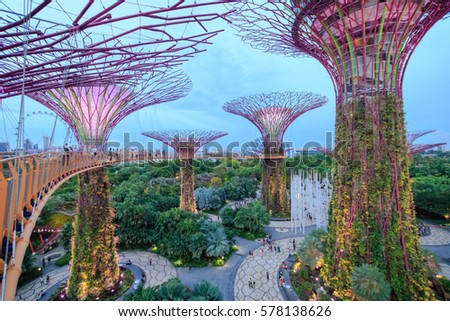 Garden By The Bay Mrt gardensthe bay stock images, royalty-free images & vectors