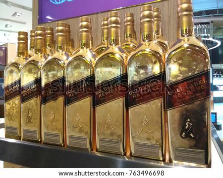 Singapore September 27 2017 Johnnie Walker Stock Photo Royalty Free