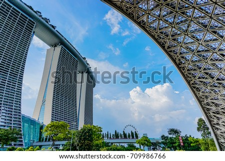 Garden By The Bay August 2017 bay central garden stock images, royalty-free images & vectors