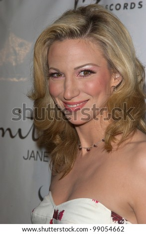 Singer DEBORAH (DEBBIE) GIBSON at A Night with Janet Damita Jo Jackson - a party to celebrate the career achievements of Janet Jackson - at Mortons Restaurant, West Hollywood, CA. March 20, 2004