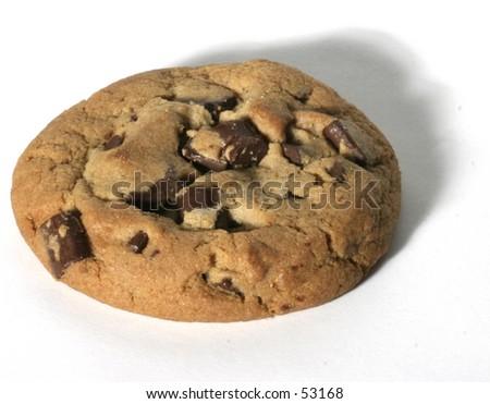 single cookie - stock photo