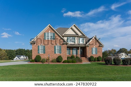 Single family home in America