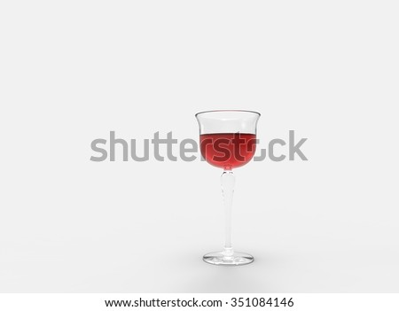 Single Glass Of WIne
