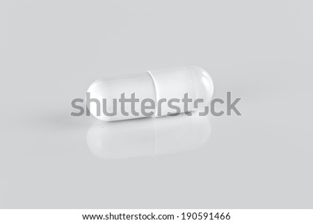 single white pill