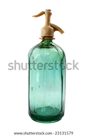 Siphon bottle - stock photo