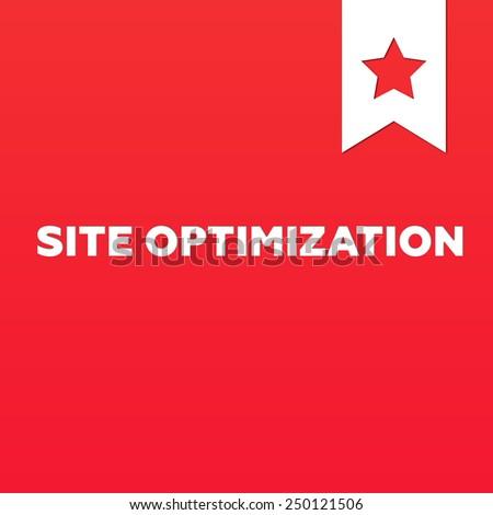 SITE OPTIMIZATION - stock photo