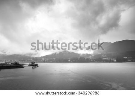 Skagway Alaska 2015 November - stock photo
