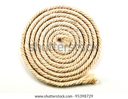 Skein of rope - stock photo