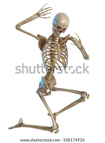 skeleton repent - stock photo