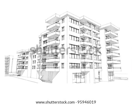 building sketch stock images, royalty-free images & vectors