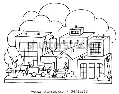 factory worker coloring pages - photo#12