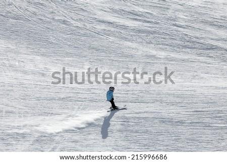 Ski at Innsbruck, Tyrol, Austria, Europe - stock photo