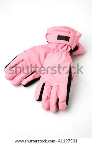 Ski gloves - stock photo
