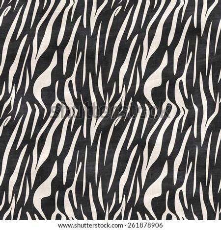 skin animal pattern on black Chalkboard, background seamless texture  - stock photo