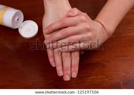 skin care - stock photo