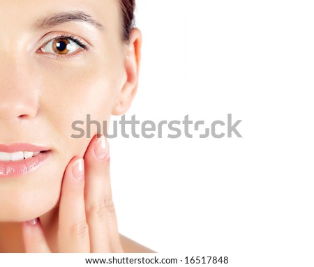 skincare - stock photo