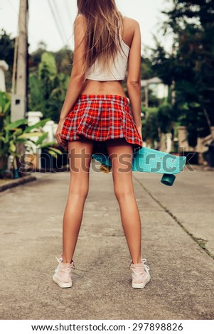 """mini Skirt Leisure"" Stock Photos, Royalty-Free Images ..."