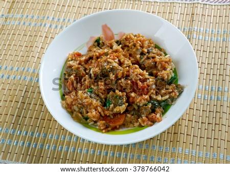 skoudehkaris rice recipe from djibouti african cuisine skoudehkaris ...