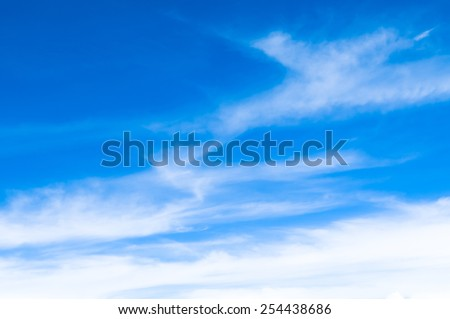 sky above clouds - blue heavenly bright daylights