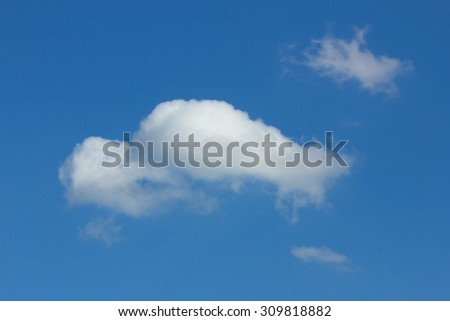 Sky and clouds.