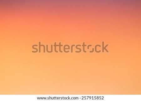 sky at sunset - stock photo