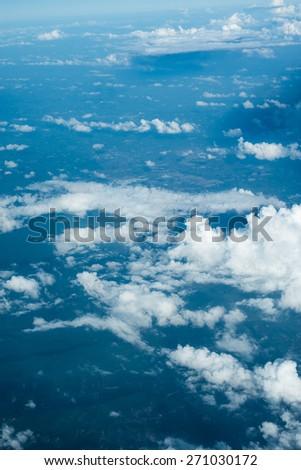 sky background. - stock photo