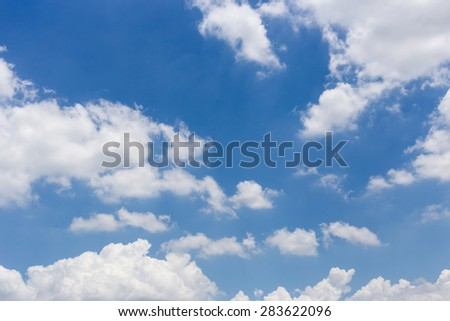 sky-clouds background. - stock photo