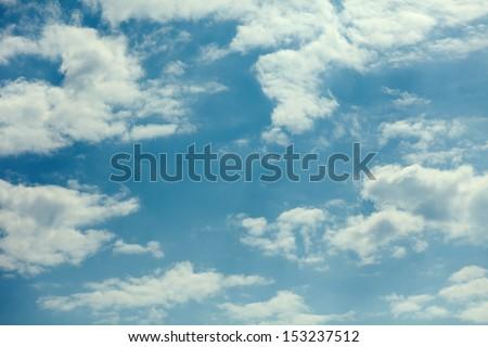 sky day - stock photo
