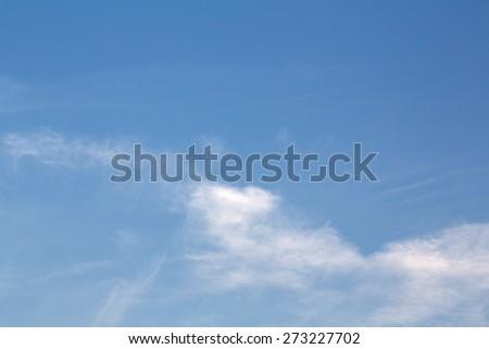 sky in sunrise - stock photo