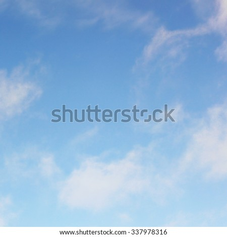 Sky space - stock photo