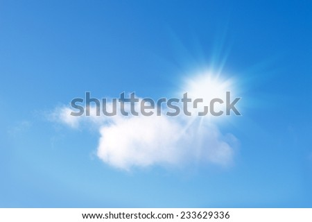 Sky Sun  Background