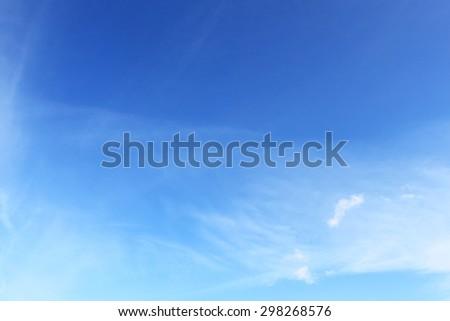 Sky surface - stock photo