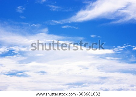 Sky white clouds