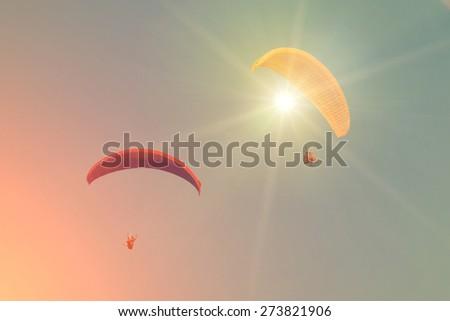 Skydive - stock photo