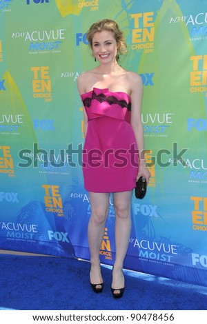 Skyler Samuels at the 2011 Teen Choice Awards at the Gibson Amphitheatre, Universal Studios, Hollywood. August 7, 2011  Los Angeles, CA Picture: Paul Smith / Featureflash