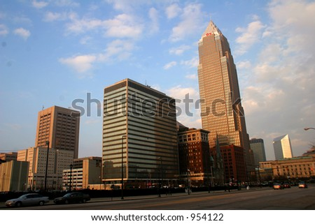 Skyline of Downtown Cleveland, Ohio