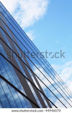 skyline within the streets of Glasgow, Scotland - stock photo