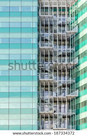 Skyscraper Building Construction - stock photo