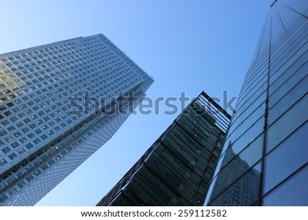 Skyscraper in London