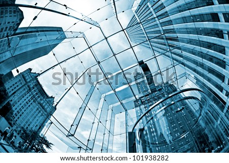 Skyscrapers - stock photo