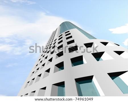 Skyscrapers. - stock photo