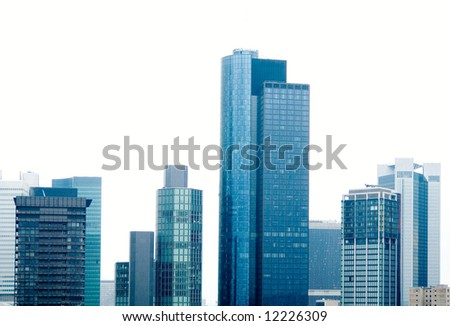Skyscrapers in Frankfurt on Main