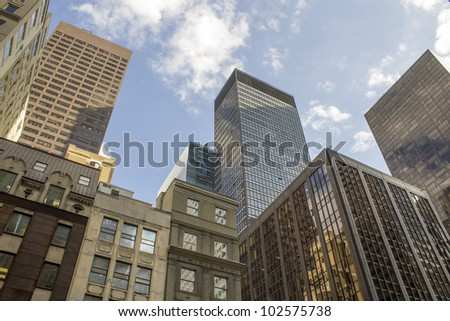 Skyscrapers of New York City, U.S.A.