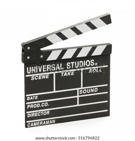 Slate cards - stock photo