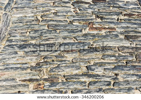 slate wall background texture