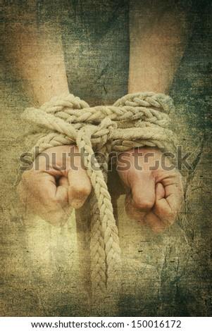slave - stock photo