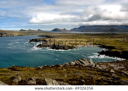 Slea Head Ireland - stock photo