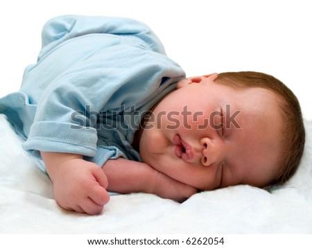 sleeping angel - stock photo