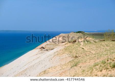 Sleeping Bear Dunes National Lakeshore, Michigan, USA - stock photo